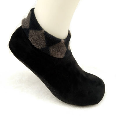 [三双]包邮秋冬居家加绒地板袜加厚防滑保暖袜套瑜伽袜男女士短袜