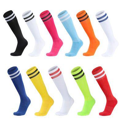 足球袜男款长筒袜成人儿童防滑运动袜男童中筒过膝加厚毛巾底女袜