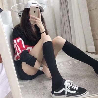 长筒袜女学生韩版秋冬款过膝袜长袜子暗黑日系jk中筒小腿袜ins潮