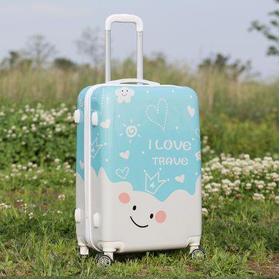 儿童行李箱复古行李箱16寸拉杆箱18寸迷你拉杆箱拉杆箱大容量26寸【2月29日发完】