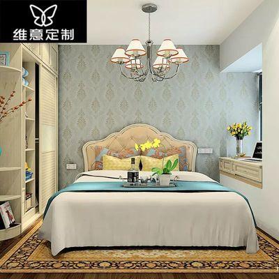 维意定制衣柜衣帽间定做现代简约整体卧室衣柜全屋定制家具主图