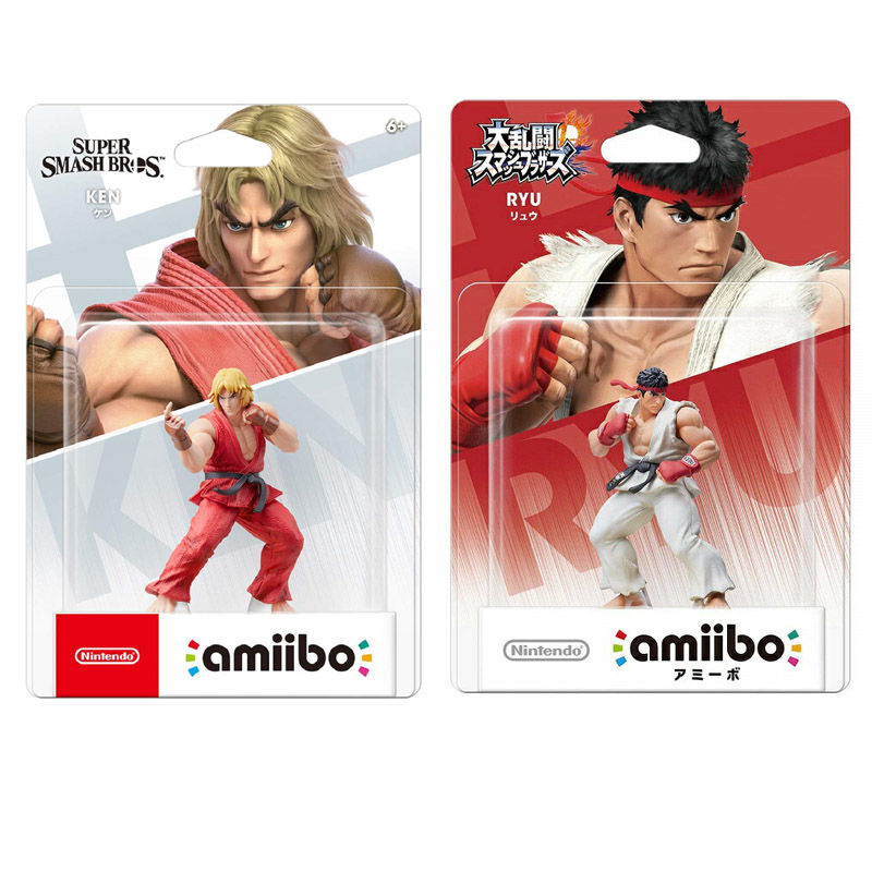 新补货: Nintendo 任天堂 街头霸王 隆 amiibo