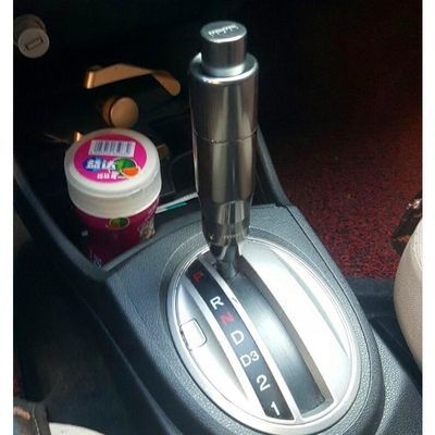 汽车改装排挡头酷派飞度自动挡带按钮键CD5档杆波棍头金属档把头