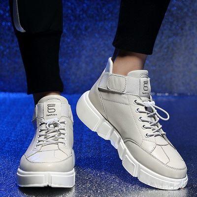 大码运动棉鞋男45保暖冬季新款板鞋46男47跑步百搭透气休闲皮鞋48