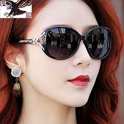 偏光眼镜女韩版太阳镜圆脸女墨镜女太阳眼镜女士防紫外线太阳镜女