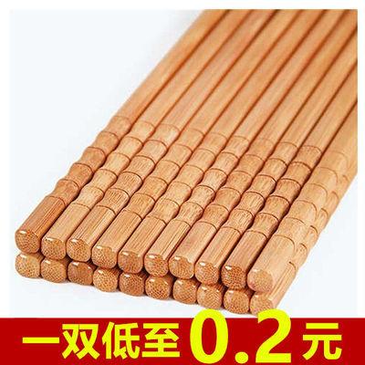 【亏本促销1000份竹筷子】防霉高档竹筷子无漆无蜡竹筷子家用筷子