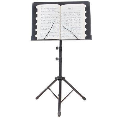 折叠加粗可升降曲谱架吉他小提琴乐谱架古筝二胡乐谱台琴谱架