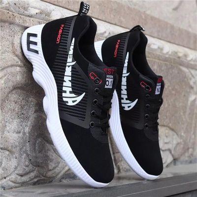 男鞋网鞋新款休闲运动男士鞋子韩版跑步鞋潮流英伦透气帆布鞋板鞋