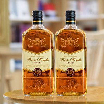 洋酒组合xo白兰地威士忌鸡尾酒香槟酒伏特加正品酒水套装双支装
