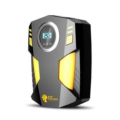 莫甘娜12v车载充气泵小型便携式小轿车打气泵汽车电动多功能车用