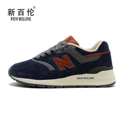 NEW BOLUNE 新百伦 官方正品女鞋跑步鞋休闲运动鞋耐磨复古鞋子