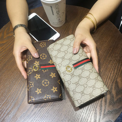 小钱包女学生韩版网红款零钱包长款2020时尚新款多功能女士钱卡包