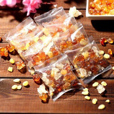 桃胶雪燕皂角米组合正品云南美颜三宝牛奶天然野生胶原特级桃花泪