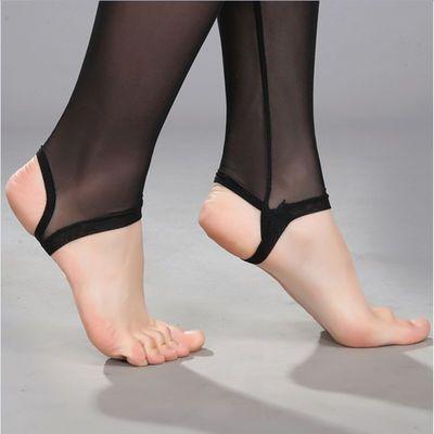 1/2条装夏季薄款细网纱踩脚连裤袜单层九分打底裤带安全裤网袜女