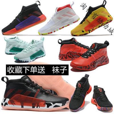 利拉德5代D篮球鞋NBA战靴全明星4薄荷绿新年CNY新款运动鞋
