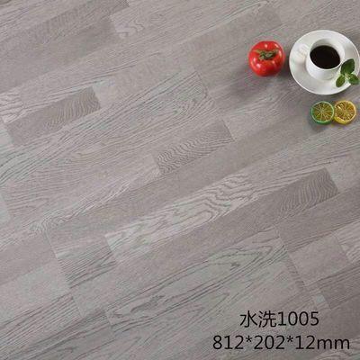 强化复合地板12mm家用卧室水洗E0环保耐磨防水仿实木地板厂家直销【3月12日发完】