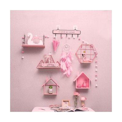桌面店里装饰酒店墙面房屋店铺置物可爱置物架墙上儿童房背景墙