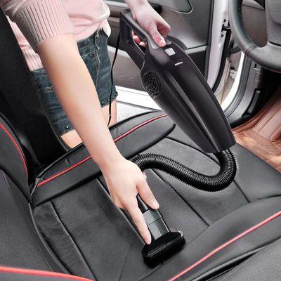 车载吸尘器120W超大功率超强吸力车用吸尘干湿两用12V汽车吸尘器