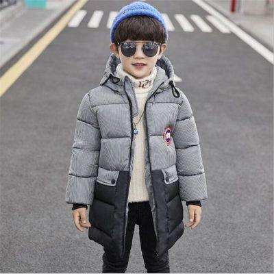 男童棉服中大童儿童棉衣2019冬装新款加厚冬季男孩中长款棉袄外套