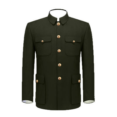 上世纪老货87式军装 87马裤尼冬装 马裤呢冬服毛料中山服装干部