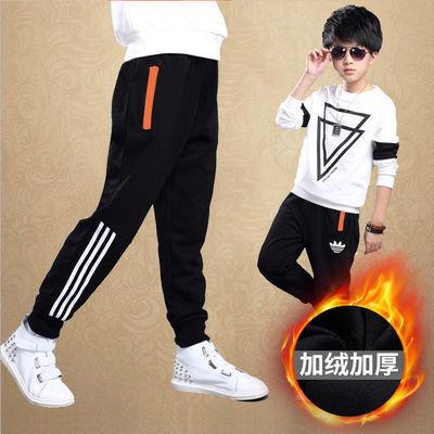 男童春秋装运动裤2020新款儿童中大童洋气时髦长裤休闲裤子韩版潮