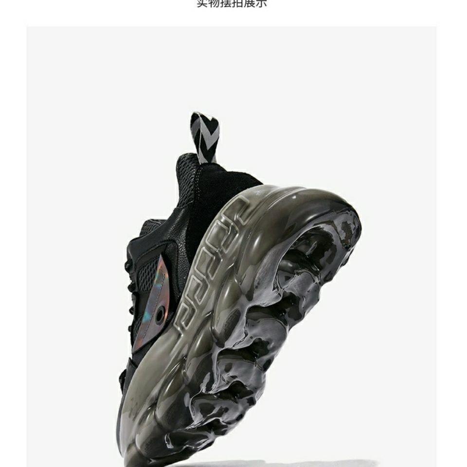 森马男鞋春秋2020新款休闲运动鞋潮鞋百搭厚底增高跑步鞋子