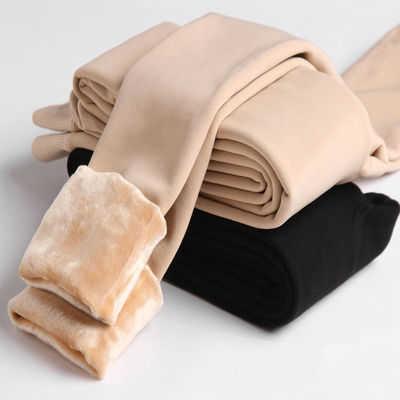 丝袜女秋冬季加绒加厚打底裤女肉色中厚连裤袜防勾丝保暖光腿神器