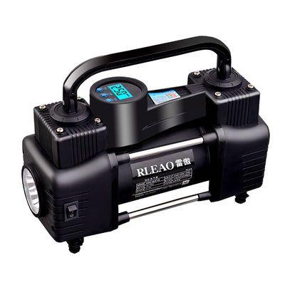 [爆款]贝斯迪 便携式车载双缸充气泵汽车用打气泵轮胎12V电动高压