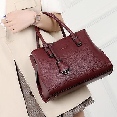真皮女士包包大容量大包手提包中年女包简约牛皮单肩斜挎妈妈包