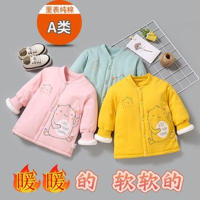 儿童棉衣外套1岁男童棉服秋冬季3岁女童保暖上衣夹棉宝宝婴幼衣服