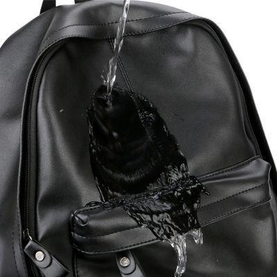 【裂狼】双肩包男时尚潮流韩版旅行男士背包皮休闲学生书包电脑包