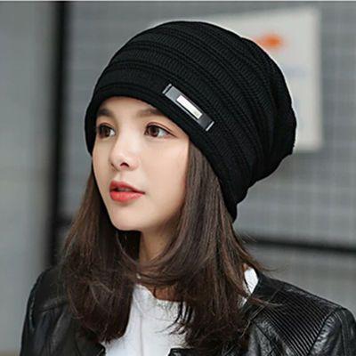 帽子女秋冬季包头帽韩版潮套头帽堆堆帽休闲女士头巾帽睡帽月子帽
