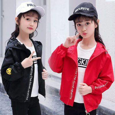 女童洋气夹克女孩上衣外套2019春秋季新款韩版中大童休闲棒球服潮