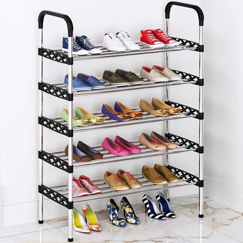 特价多层简易鞋架子门口鞋柜防尘收纳神器小号寝室多功能家用学生