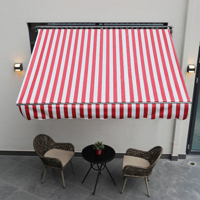户外遮阳棚伸缩式加厚铝合金遮雨棚折叠帐篷阳台雨搭手摇停车