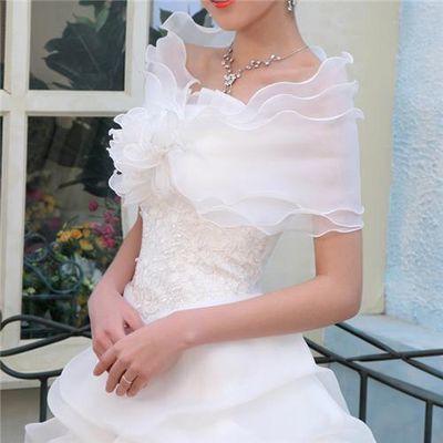 冬季婚纱2019新款韩式长袖毛领加厚大码显瘦修身红色新娘结婚礼服【3月1日发完】