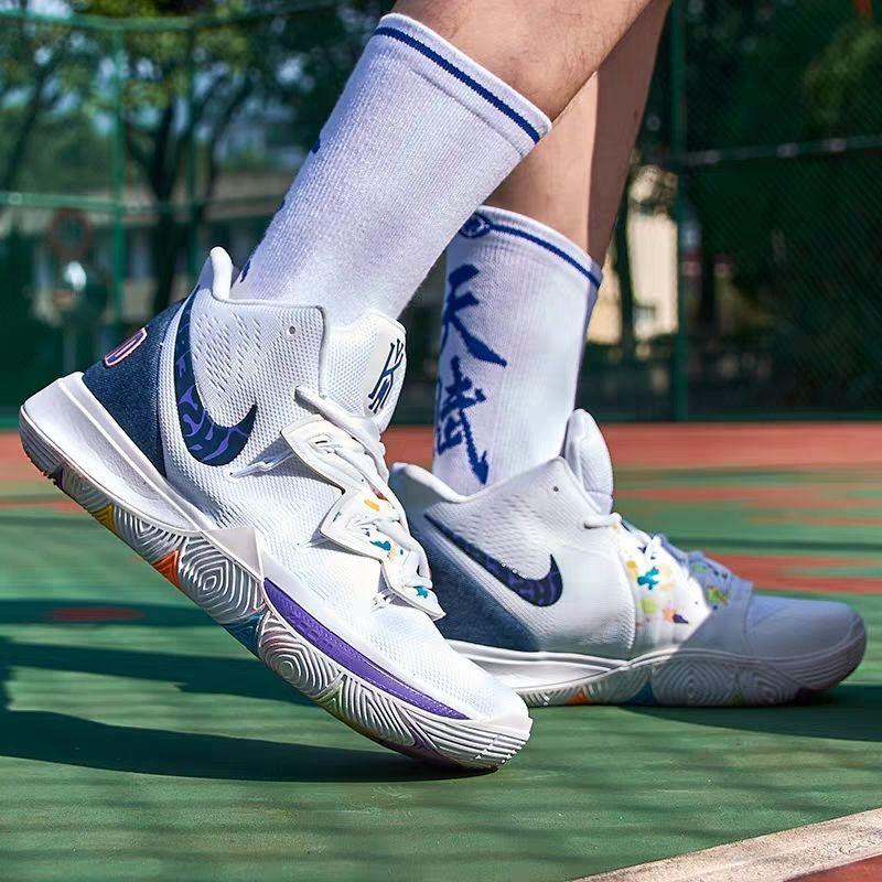 欧文5代篮球鞋kyrie5笑脸毒液派大星联名埃及全明星老友记6代男鞋