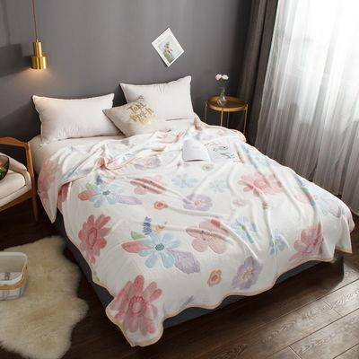 沐夏家纺3D雪花绒毛毯盖毯冬季床单双人空调可爱午睡毯【3月13日发完】