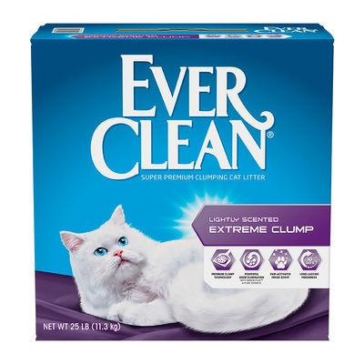 美国蓝钻猫砂25磅杀菌祛味除臭无尘吸水结团膨润土Everclean猫砂