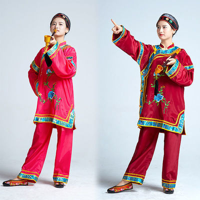 媒婆服装老太太秧歌服地主婆戏剧演出服老年广场舞蹈服老婆婆戏服【3月1日发完】