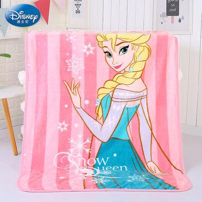 77411/迪士尼法兰绒儿童午睡盖毯珊瑚绒婴儿毛毯宝宝云毯办公室午睡毯子