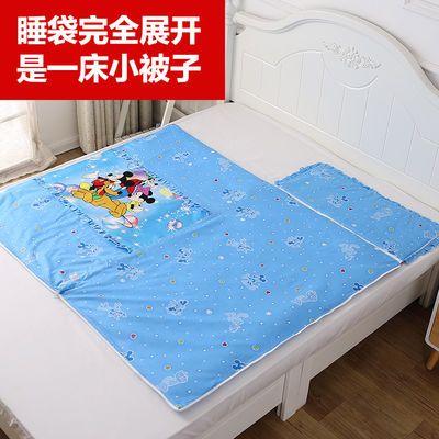 儿童睡袋防踢被婴儿纯棉春秋薄款冬加厚睡袋宝宝防踹被子可拆内胆