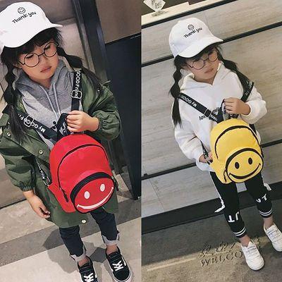 女男童小背包时尚个性旅游卡通笑脸儿童包包幼儿园男孩宝宝双肩包