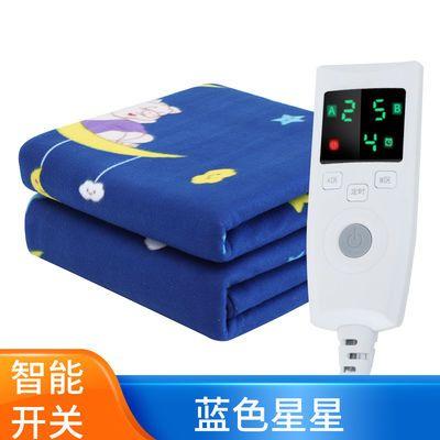 电热毯单人双人三人双控智能调温学生宿舍防水加厚安全家用电褥子