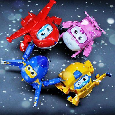 奥迪双钻大号超级飞侠变形机器人男童玩具套装全套乐迪多小爱酷飞
