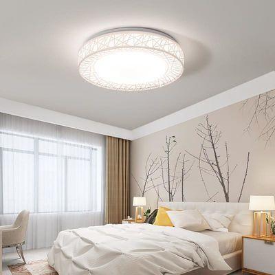 卧室灯led吸顶灯圆形书房灯简约现代餐厅灯温馨房间阳台过道灯具