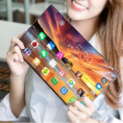 新款超薄安卓智能平板电脑高清大屏全网通双卡双待手机通话学习机