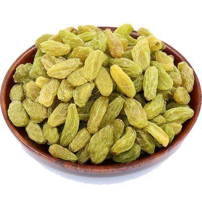 1000g新疆吐鲁番葡萄干纯天然无核树上黄绿宝葡萄干散装一斤半斤