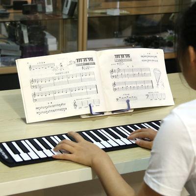 爆款乐器便携式折叠乐谱架子 读书架 桌面琴乐谱架支架架台式乐谱