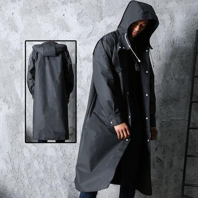 爆款舒全 成人雨衣外套时尚男女徒步登山垂钓透明雨披雨具